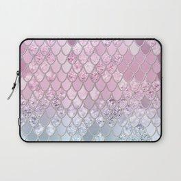 Mermaid Glitter Scales #2 #shiny #decor #art #society6 Laptop Sleeve