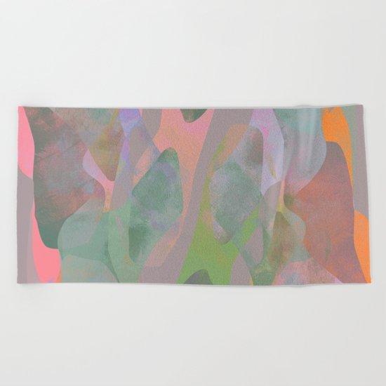 Camouflage XIX Beach Towel