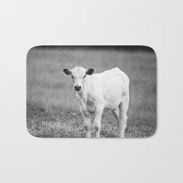 Black and White Calf Badematte