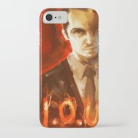 moriarty iPhone & iPod Cases featuring Jim Moriarty by AkiMao