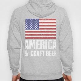 America And Craft Beer Hoody