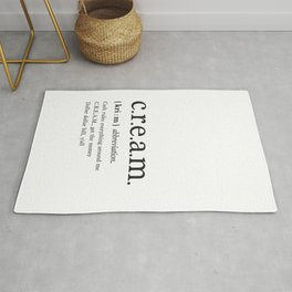 Rap lyrics print Rug
