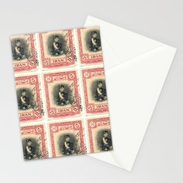 Old Iranian Stamp Stationery Cards