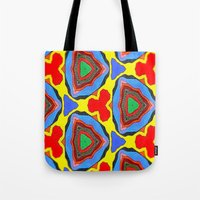 trippy Tote Bags featuring Trippy by EBC art