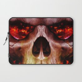 Skull Fire Laptop Sleeve