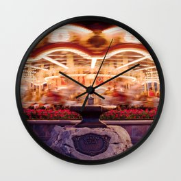 He who so pulleth out this sword . . . Wall Clock