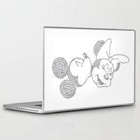 minnie Laptop & iPad Skins featuring Mickey & Minnie by S. L. Fina