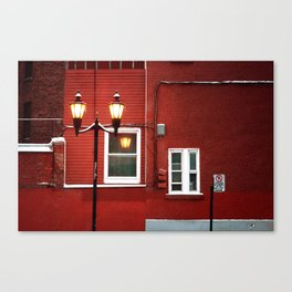 the wall painting Canvas Print