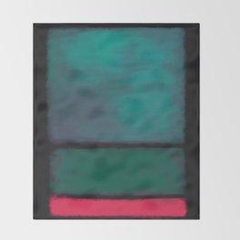 Rothko Inspired #8 Throw Blanket