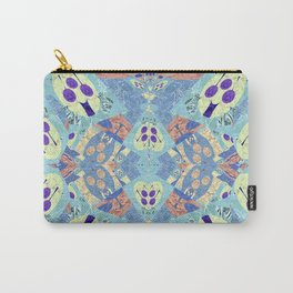 Abstract Vibrant Pastel Quilt 1 Carry-All Pouch