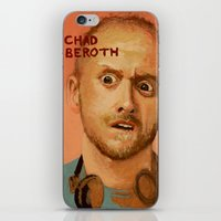 chad wys iPhone & iPod Skins featuring 50 Artists: Chad Beroth by Chad Beroth