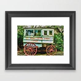 Roman Chewing Candy Framed Art Print