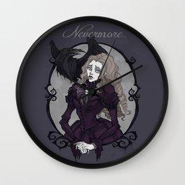 Lenore Portrait Wall Clock