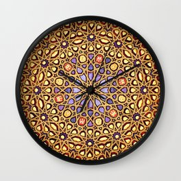 Golden Dome Wall Clock