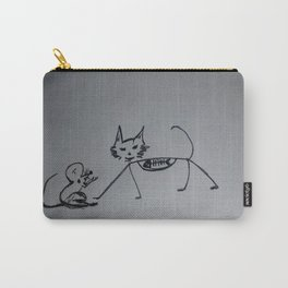 Cat,mouse n fish skull Carry-All Pouch