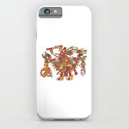 Aztec Inca God Graphic iPhone Case