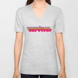Survivor Unisex V-Neck