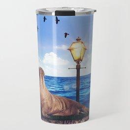 Walrus in a walk by GEN Z Travel Mug