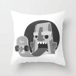 BoardTalk Throw Pillow