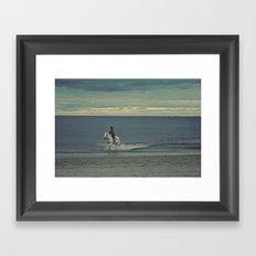 Nautica: Water Child Framed Art Print