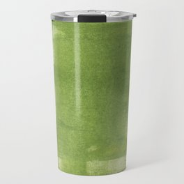 Green abstract Travel Mug