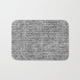 Vintage Brick Wall Bath Mat