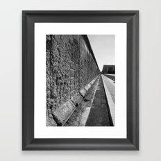 The Berlin Wall Framed Art Print