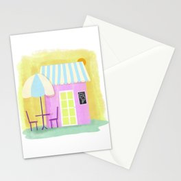 Ice Cream Shop Stationery Cards