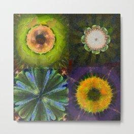 Counterhypothesis Harmony Flowers  ID:16165-102147-41840 Metal Print