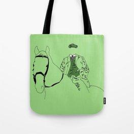 Horse and Fashion Verte Tote Bag