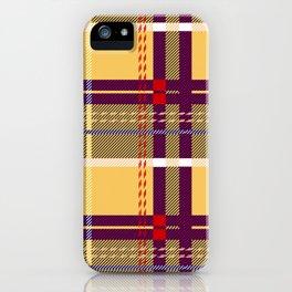 Whatever Plaid iPhone Case