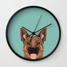 Skylar - German Shepherd gifts for dog people dog lover gifts german shepherd owners perfect gifts Wall Clock