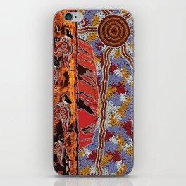 Uluru (Ayers Rock) Authentic Aboriginal Art iPhone Skin
