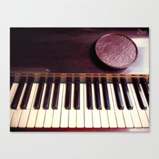 Ivory and wood Canvas Print