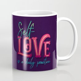 Kelly-Ann Maddox Collection :: Self-Love (Simple) Coffee Mug