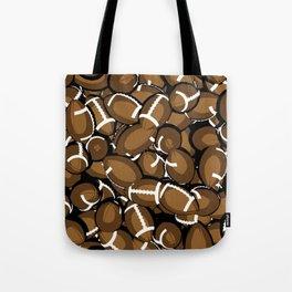 Football Season Tote Bag