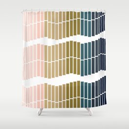 Ombre Trio Shower Curtain