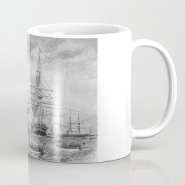 U.S. Naval Fleet During The Civil War Coffee Mug