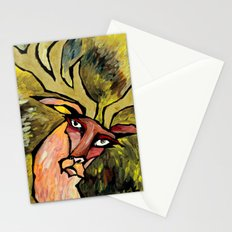 Deer at High Speeds Stationery Cards