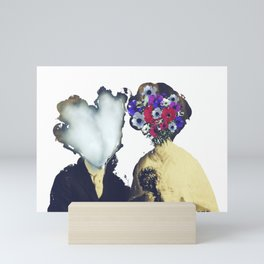 Just married Mini Art Print