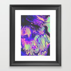 FIRE AND THUD Framed Art Print