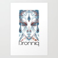 Dronniq Summer by Lüx Aurah Art Print