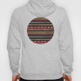African Tribal Pattern No. 125 Hoody