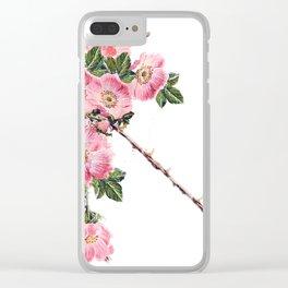 Briar Rose 7B Clear iPhone Case