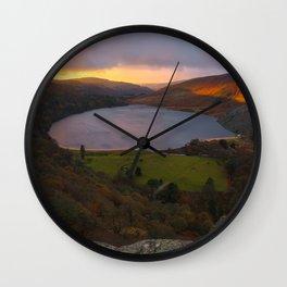 Ireland - Lough Tay (RR 254) Wall Clock