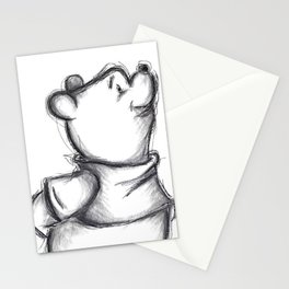 Insightful Pooh Stationery Cards