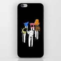 tarantino iPhone & iPod Skins featuring Off the Reservoir by Jonah Makes Artstuff