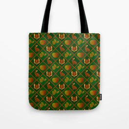 Of Foxes and Hares Tote Bag