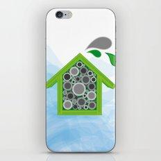 Solitary Bee Hotel iPhone & iPod Skin