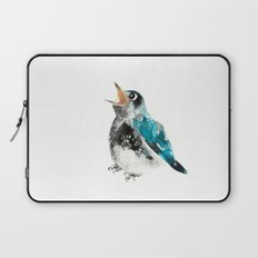 Bluebird Birthday Wish Laptop Sleeve
